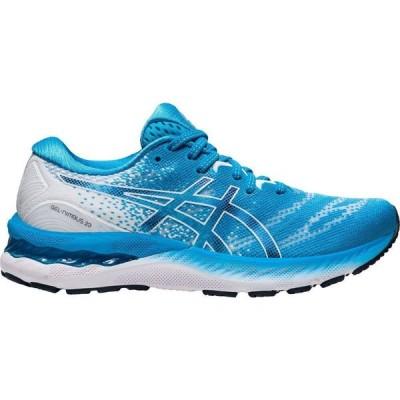 アシックス ASICS レディース ランニング・ウォーキング シューズ・靴 GEL-Nimbus 23 Running Shoes Light Blue/White