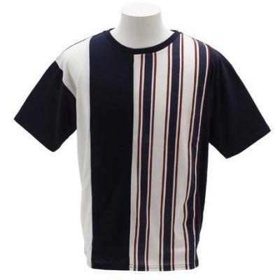タイムリーワーニング(Timely Warning) Tシャツ メンズ ALL OVER 半袖 8551082-NVY オンライン価格 (Men's)