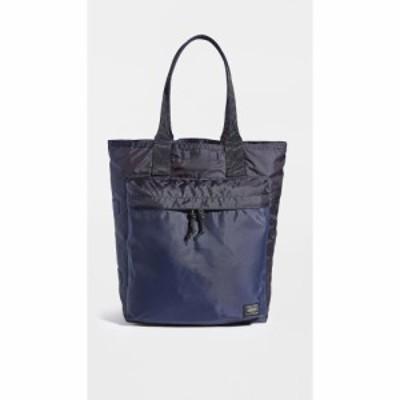 ポーター Porter メンズ トートバッグ バッグ flex tote bag Navy