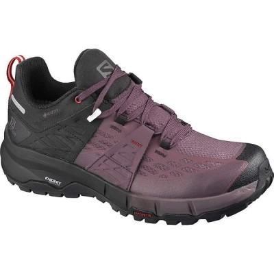 サロモン Salomon レディース ハイキング・登山 シューズ・靴 Odyssey GTX Shoe Black/Flint/High Risk Red