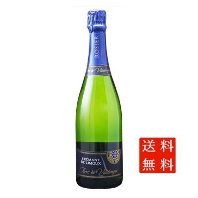 父の日 プレゼント ワイン クレマン・ド・リムー テール・ド・ヴィルロング ブリュット / ロジエ 白 発泡 750ml 12本 フランス スパークリング 送料無料
