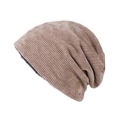 WHITE FANG(ホワイトファング) ニット帽 帽子 ベロア コーデュロイ キャップ 裏起毛 防寒 秋冬 メンズ CA399 (02:ベージュ)