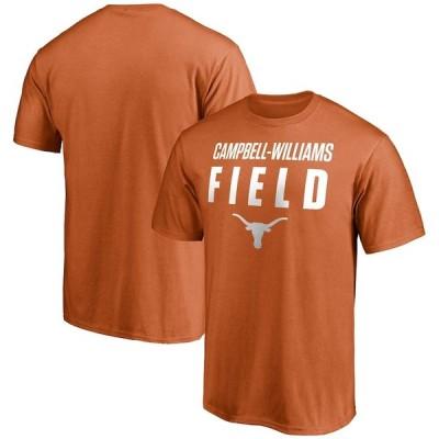 """ファナティックス メンズ Tシャツ """"Texas Longhorns"""" Fanatics Branded Campbell-Williams Field T-Shirt - Texas Orange"""