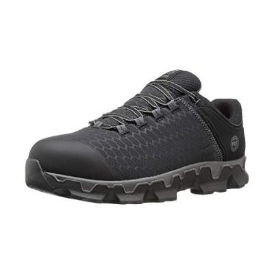 Timberland PRO Men's Powertrain Sport Alloy Toe EH Industrial & Construction Shoe, Black Synthetic, 10.5 M US【並行輸入品】