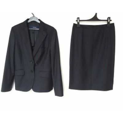 ニューヨーカー NEW YORKER スカートスーツ レディース 黒【中古】20200412