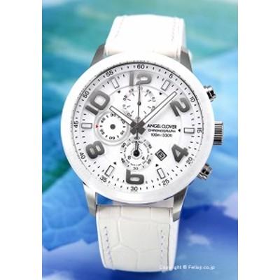 エンジェルクローバー ANGEL CLOVER 腕時計 Luce LU44SWH-WH