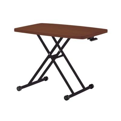 昇降テーブル(LFT-TK900(BR))リビングテーブル ダイニングテーブル ガス圧リフトテーブル リフティングテーブル 昇降式 高さ調節 高さ調整
