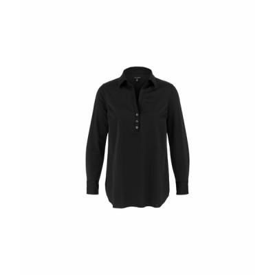 トリバル ニット&セーター アウター レディース Long Sleeve Wrinkle Resistant Tunic Black 2
