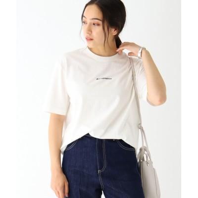 OPAQUE.CLIP(オペークドットクリップ) ◆【日本財団チャリティー】#staypositive リサイクルコットンTシャツ(レディース)