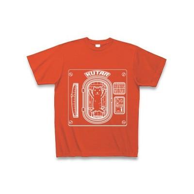 クター[E] Tシャツ Pure Color Print(イタリアンレッド)