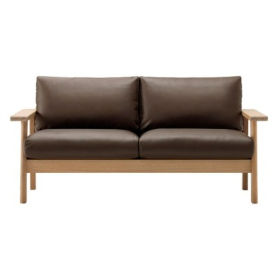 MARUNI COLLECTION Bruno ツーシーターソファ oak leather