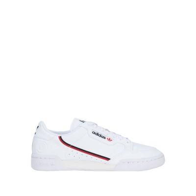 ADIDAS ORIGINALS スニーカー&テニスシューズ(ローカット) ホワイト 7 紡績繊維 スニーカー&テニスシューズ(ローカット)