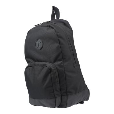 HURLEY バックパック&ヒップバッグ ブラック ポリエステル 100% バックパック&ヒップバッグ