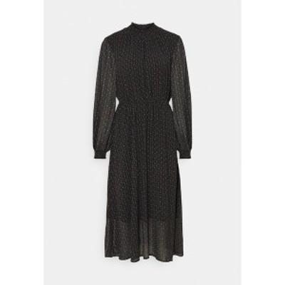 ニンフ レディース ワンピース トップス NUCASSIE DRESS - Day dress - black black