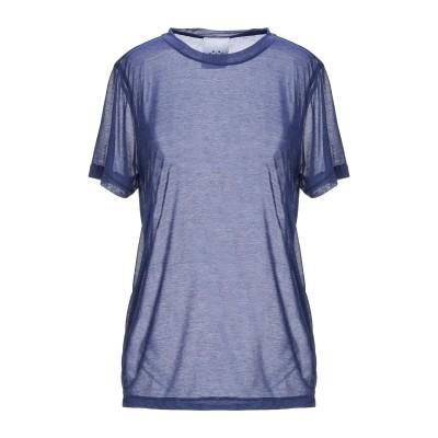 ジジル JIJIL T シャツ ブルー 38 ポリエステル 100% T シャツ