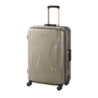 日本製スーツケース WT コヴァーラム 84L (ゴールド) 06583-13
