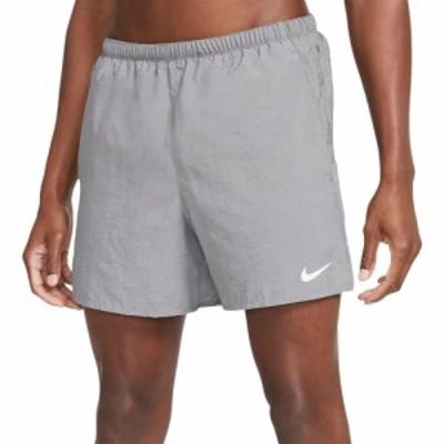 ナイキ Nike メンズ ランニング・ウォーキング ショートパンツ ボトムス・パンツ Challenger Brief-Lined 5 Running Shorts Smoke Grey