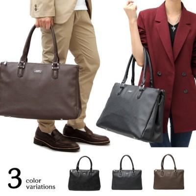 ビジネスバッグ トートバッグ ブリーフケース ブリーフバッグ 鞄 カバン メンズ 男性 レディース 女性 A4 大容量 軽量 PUレザー 革 無地 シンプル 仕事