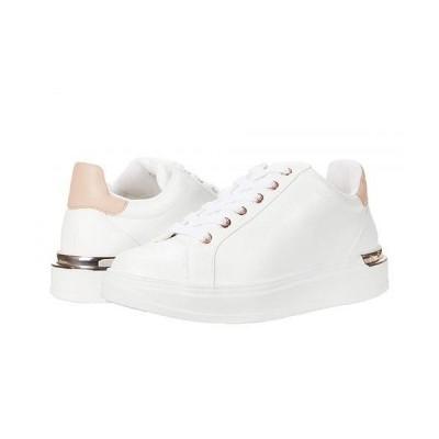 Steve Madden スティーブマデン レディース 女性用 シューズ 靴 スニーカー 運動靴 Jaxie Sneaker - White/Natural