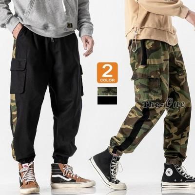 カーゴパンツ メンズ ファッション ボトムス 迷彩 ミリタリー カジュアル イージーパンツ ズボン