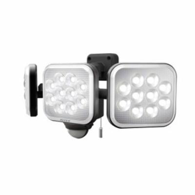 LEDセンサーライト ムサシ RITEX ライテックス LED-AC3036 コンセント式 12W×3灯 明るさ3000ルーメン フリーアーム式 人感センサーライ