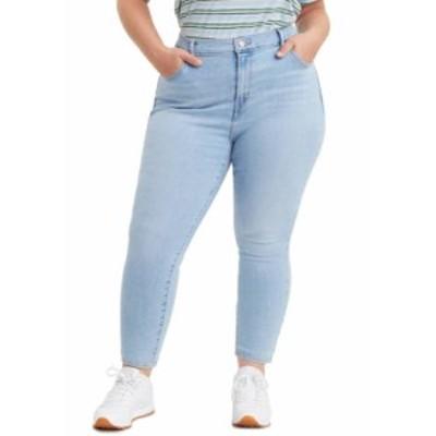 リーバイス レディース デニムパンツ ボトムス Plus Size 721 High Rise Skinny Azure Mood Jeans Light Wash