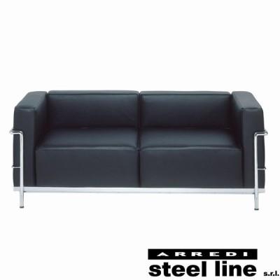 ル・コルビジェ LC3 2P スティールライン社DESIGN900 (steelline)