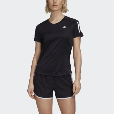 アディダス adidas オウン ザ ラン 半袖Tシャツ / Own the Run Tee (ブラック)