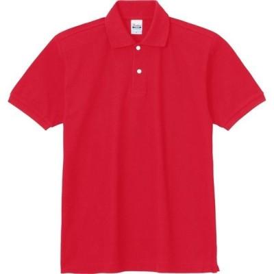 トムス(TOMS) 5.3オンス スタンダードポロシャツ 00223ーSDP(ジュニアサイズ) 00223A レッド