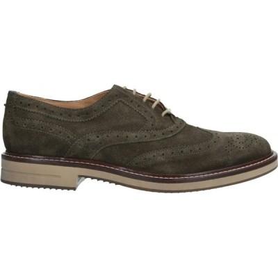 ブリマート BRIMARTS メンズ シューズ・靴 laced shoes Dark green
