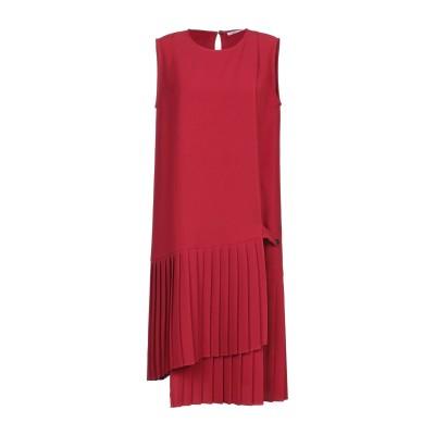 パロッシュ P.A.R.O.S.H. ミニワンピース&ドレス レッド L ポリエステル 97% / ポリウレタン 3% ミニワンピース&ドレス