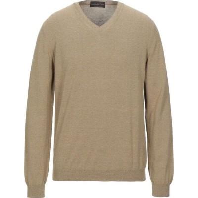 ファブリツィオ デル カルロ FABRIZIO DEL CARLO メンズ ニット・セーター トップス Sweater Sand