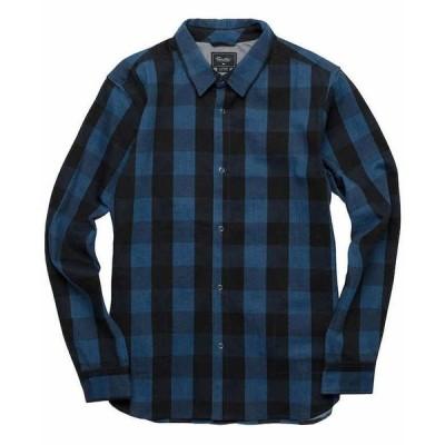 Primitive Buffalo L/S Flannel Shirt Ikat Indigo S シャツ 送料無料