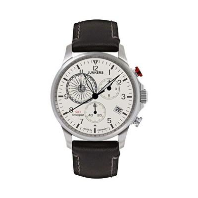 Junkers Men's Quartz Watch with Chronograph Quartz Leather 68925 並行輸入品
