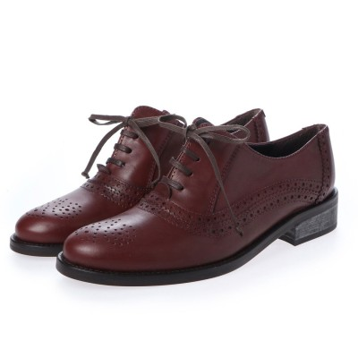 ヨーロッパコンフォートシューズ EU Comfort Shoes looky  革靴(3530-A) (ブラウン)