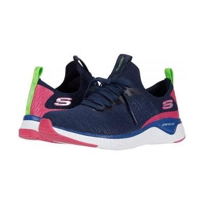 SKECHERS スケッチャーズ レディース 女性用 シューズ 靴 スニーカー 運動靴 Solar Fuse - Navy Multi