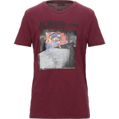 イエスロンドン YES LONDON メンズ Tシャツ トップス t-shirt Maroon