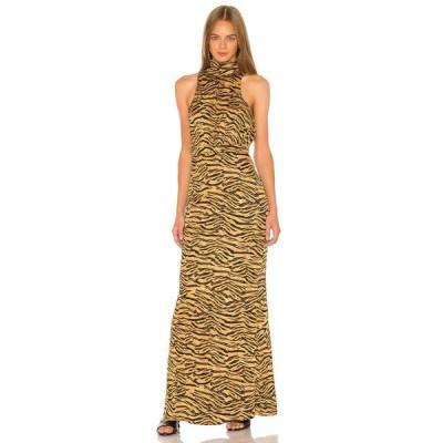 ソング オブ スタイル Song of Style レディース ワンピース マキシ丈 ワンピース・ドレス Hope Maxi Dress Tiger Multi
