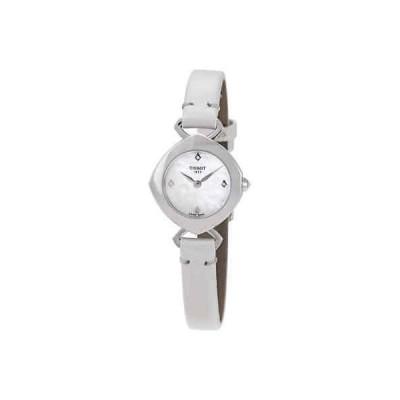 腕時計 ティソット Tissot Femini-T Mother of Pearl Diamond Dial Ladies Watch T1131091611601