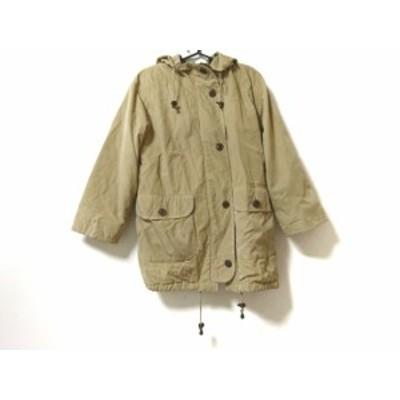 バーバリーズ Burberry's コート サイズ7 S レディース イエロー 冬物【中古】