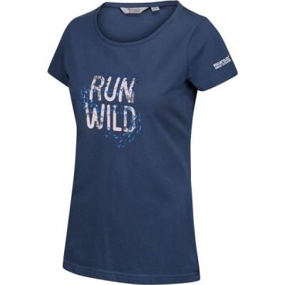 レガッタ Regatta レディース Tシャツ トップス Breezed Coolweave T-Shirt Dark Denim
