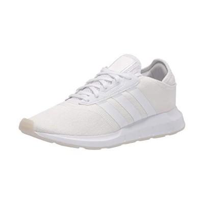 adidas Originals Women's Swift Essential Sneaker, White/White/Pink Tint, 8【並行輸入品】