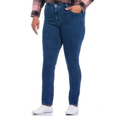 リーバイス レディース デニムパンツ ボトムス Levi'sR 721 Plus Size High-Waisted Skinny Jeans