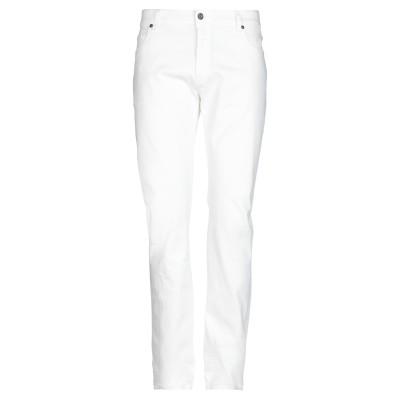 ブルックスフィールド BROOKSFIELD パンツ ホワイト 33 コットン 97% / ポリウレタン 3% パンツ