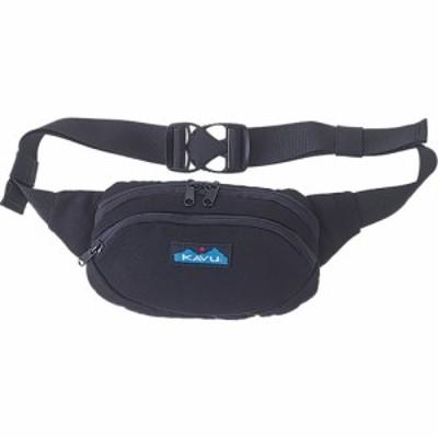 カブー KAVU レディース ボディバッグ・ウエストポーチ バッグ Canvas Spectator Waist Pack Black