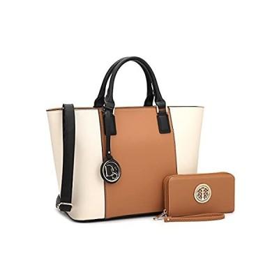 DASEIN Women's Handbags Purses Large Tote Shoulder Bag Top Handle Satchel B