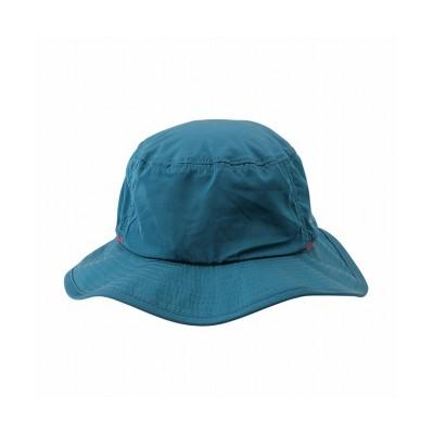【マックハウス】 T-MAC OUTING ティーマック アウティング 撥水アドベンチャーハット 無地 855-1307-2 メンズ ブルー F MAC HOUSE