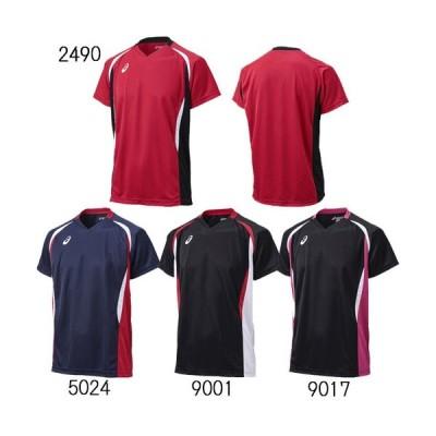 【アシックス バレー 半袖ゲームシャツ ユニセックス】asics ゲームシャツHS XW1325 ★3300
