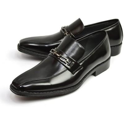 [ジーノ] ビジネスシューズ メンズ ビジネス 幅広 3E 防滑 革靴 紳士靴 靴 シューズ 【G】 ze3017[ブラック] 26.5cm