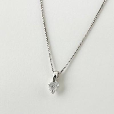 ダイヤモンド デザインネックレス プラチナ ペンダント ネックレス Pt850 Pt900 ダイヤモンド レディース 中古
